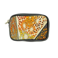 Abstract Starburst Background Wallpaper Of Metal Starburst Decoration With Orange And Yellow Back Coin Purse