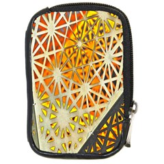 Abstract Starburst Background Wallpaper Of Metal Starburst Decoration With Orange And Yellow Back Compact Camera Cases