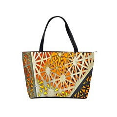 Abstract Starburst Background Wallpaper Of Metal Starburst Decoration With Orange And Yellow Back Shoulder Handbags
