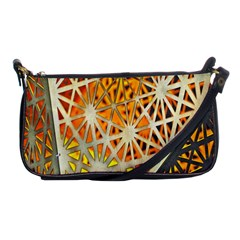 Abstract Starburst Background Wallpaper Of Metal Starburst Decoration With Orange And Yellow Back Shoulder Clutch Bags
