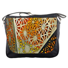 Abstract Starburst Background Wallpaper Of Metal Starburst Decoration With Orange And Yellow Back Messenger Bags