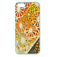 Abstract Starburst Background Wallpaper Of Metal Starburst Decoration With Orange And Yellow Back Apple Seamless iPhone 5 Case (Color)