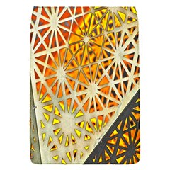 Abstract Starburst Background Wallpaper Of Metal Starburst Decoration With Orange And Yellow Back Flap Covers (s)