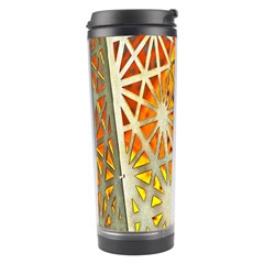Abstract Starburst Background Wallpaper Of Metal Starburst Decoration With Orange And Yellow Back Travel Tumbler