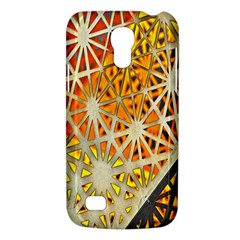 Abstract Starburst Background Wallpaper Of Metal Starburst Decoration With Orange And Yellow Back Galaxy S4 Mini