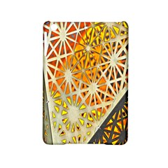 Abstract Starburst Background Wallpaper Of Metal Starburst Decoration With Orange And Yellow Back iPad Mini 2 Hardshell Cases