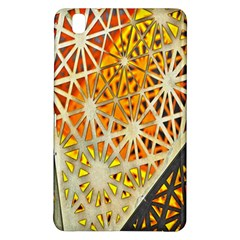 Abstract Starburst Background Wallpaper Of Metal Starburst Decoration With Orange And Yellow Back Samsung Galaxy Tab Pro 8 4 Hardshell Case