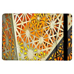 Abstract Starburst Background Wallpaper Of Metal Starburst Decoration With Orange And Yellow Back Ipad Air Flip