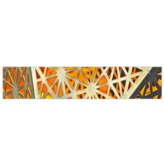 Abstract Starburst Background Wallpaper Of Metal Starburst Decoration With Orange And Yellow Back Flano Scarf (Small)