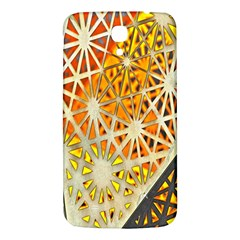 Abstract Starburst Background Wallpaper Of Metal Starburst Decoration With Orange And Yellow Back Samsung Galaxy Mega I9200 Hardshell Back Case