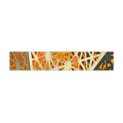 Abstract Starburst Background Wallpaper Of Metal Starburst Decoration With Orange And Yellow Back Flano Scarf (Mini)