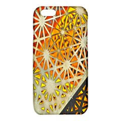 Abstract Starburst Background Wallpaper Of Metal Starburst Decoration With Orange And Yellow Back iPhone 6/6S TPU Case