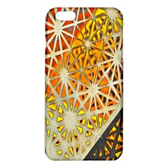 Abstract Starburst Background Wallpaper Of Metal Starburst Decoration With Orange And Yellow Back Iphone 6 Plus/6s Plus Tpu Case