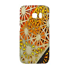 Abstract Starburst Background Wallpaper Of Metal Starburst Decoration With Orange And Yellow Back Galaxy S6 Edge