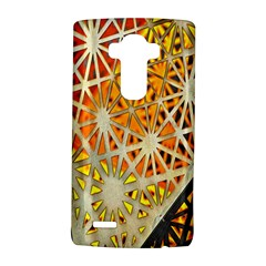 Abstract Starburst Background Wallpaper Of Metal Starburst Decoration With Orange And Yellow Back LG G4 Hardshell Case