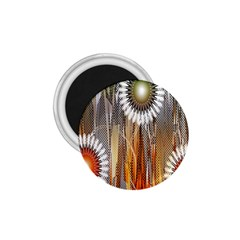 Floral Abstract Pattern Background 1 75  Magnets