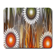 Floral Abstract Pattern Background Large Mousepads