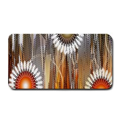 Floral Abstract Pattern Background Medium Bar Mats