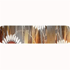 Floral Abstract Pattern Background Large Bar Mats