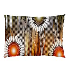 Floral Abstract Pattern Background Pillow Case