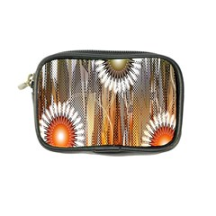 Floral Abstract Pattern Background Coin Purse