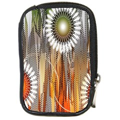 Floral Abstract Pattern Background Compact Camera Cases