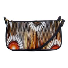 Floral Abstract Pattern Background Shoulder Clutch Bags