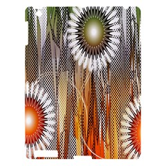 Floral Abstract Pattern Background Apple iPad 3/4 Hardshell Case