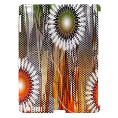 Floral Abstract Pattern Background Apple Ipad 3/4 Hardshell Case (compatible With Smart Cover)