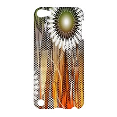 Floral Abstract Pattern Background Apple iPod Touch 5 Hardshell Case