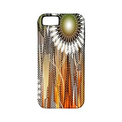 Floral Abstract Pattern Background Apple Iphone 5 Classic Hardshell Case (pc+silicone)