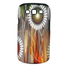 Floral Abstract Pattern Background Samsung Galaxy S Iii Classic Hardshell Case (pc+silicone)