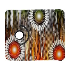 Floral Abstract Pattern Background Galaxy S3 (Flip/Folio)