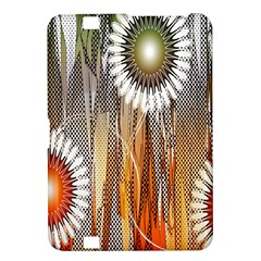 Floral Abstract Pattern Background Kindle Fire Hd 8 9