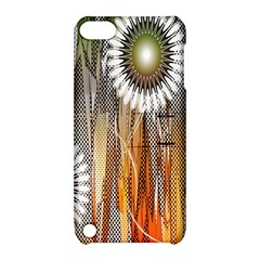 Floral Abstract Pattern Background Apple Ipod Touch 5 Hardshell Case With Stand
