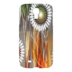 Floral Abstract Pattern Background Samsung Galaxy S4 I9500/I9505 Hardshell Case