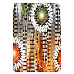Floral Abstract Pattern Background Flap Covers (L)