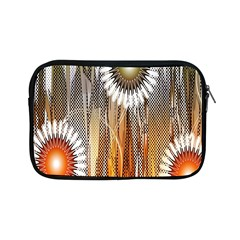 Floral Abstract Pattern Background Apple iPad Mini Zipper Cases