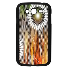 Floral Abstract Pattern Background Samsung Galaxy Grand DUOS I9082 Case (Black)