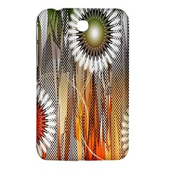 Floral Abstract Pattern Background Samsung Galaxy Tab 3 (7 ) P3200 Hardshell Case