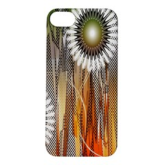 Floral Abstract Pattern Background Apple iPhone 5S/ SE Hardshell Case