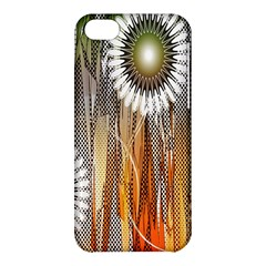 Floral Abstract Pattern Background Apple Iphone 5c Hardshell Case