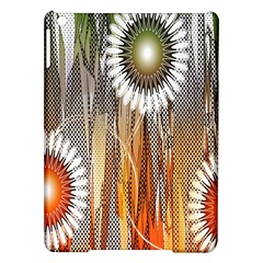 Floral Abstract Pattern Background iPad Air Hardshell Cases