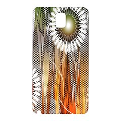 Floral Abstract Pattern Background Samsung Galaxy Note 3 N9005 Hardshell Back Case