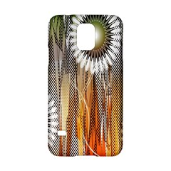 Floral Abstract Pattern Background Samsung Galaxy S5 Hardshell Case
