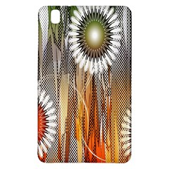 Floral Abstract Pattern Background Samsung Galaxy Tab Pro 8 4 Hardshell Case