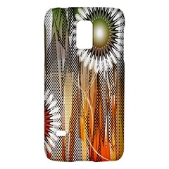 Floral Abstract Pattern Background Galaxy S5 Mini