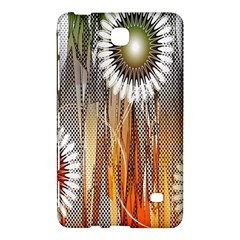 Floral Abstract Pattern Background Samsung Galaxy Tab 4 (8 ) Hardshell Case