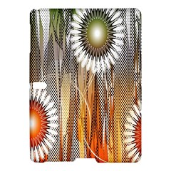 Floral Abstract Pattern Background Samsung Galaxy Tab S (10.5 ) Hardshell Case