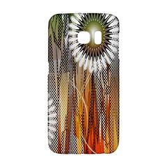 Floral Abstract Pattern Background Galaxy S6 Edge